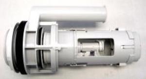 Duravit 0074138600 Flush valve for 2pc toilet, Geberit HET (High Efficiency Toilet)