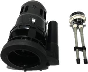 Duravit Dual Flush Valve 0074139300 Flush valve 3-5/3, 5L with chrome push button complete