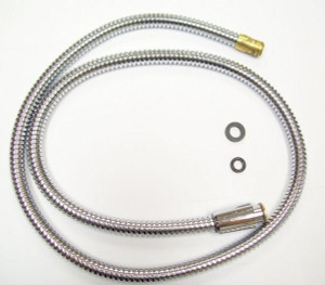 Franke 65.131 FLEXIBLE PULL-OUT HOSE(907) IN CHROME & WASHER(888) For FF-200, FF-300, FF-600, FF-700, FF-1200, FF-3000, OE-300, OE-900