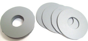 Toto THU096 Set of 10 Flapper Gaskets