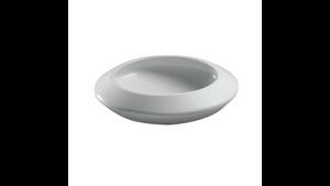 "Toto LT185#01 Curva Round Vessel Lavatory Cotton 18"" Diameter Cotton"