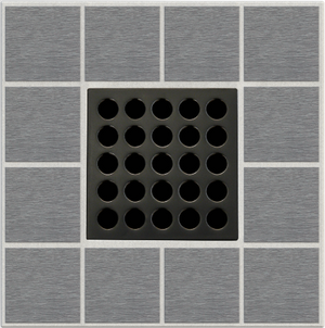 "EBBE E4407 3.75"" GRATE IN OIL RUBBED BRONZE"