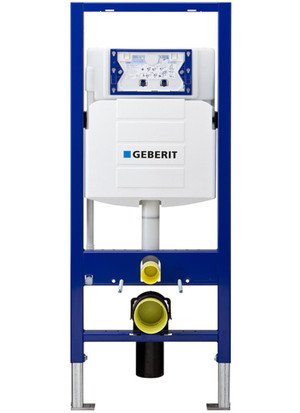 GEBERIT 111.335.00.5 DUOFIX IN-WALL SYSTEM WITH SIGMA CONCEALED TANK FOR 2X6 CONSTRUCTION