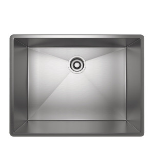 ROHL RSS2418SB FORZE SINGLE BOWL STAINLESS STEEL KITCHEN SINK BRUSHED STAINLESS STEEL