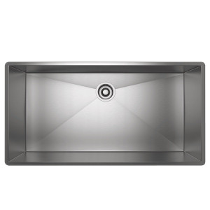 ROHL RSS3618SB FORZE SINGLE BOWL STAINLESS STEEL KITCHEN SINK BRUSHED STAINLESS STEEL