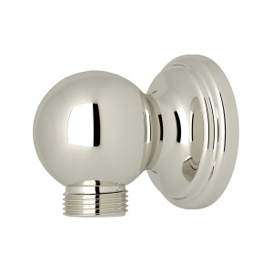 ROHL U.5546PN PERRIN & ROWE WALL OUTLET FOR HANDSHOWER POLISHED NICKEL