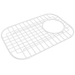 ROHL WSG6327SMWH WIRE SINK GRID FOR 6337 AND 6339 KITCHEN SINKS SMALL BOWL WHITE