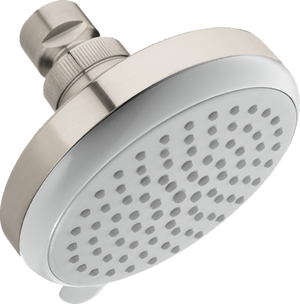 HANSGROHE 04331820 CROMA 100 SHOWERHEAD E VARIO-JET, 2.0 GPM BRUSHED NICKEL