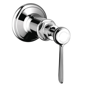 AXOR 16872001 AXOR MONTREUX VOLUME CONTROL TRIM WITH LEVER HANDLE CHROME