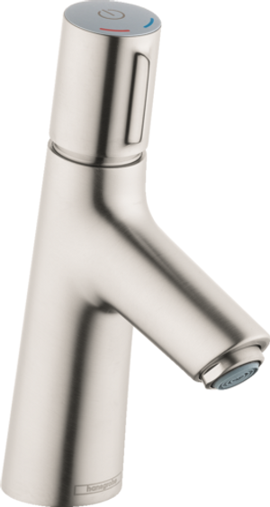 HANSGROHE 72040821 TALIS SELECT S SINGLE-HOLE FAUCET 80 WITH POP-UP DRAIN, 1.2 GPM BRUSHED NICKEL