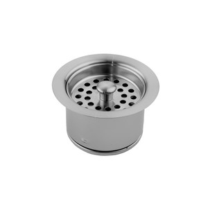 JACLO 2833-TB EXTRA DEEP DISPOSAL FLANGE WITH STRAINER TRISTAN BRASS