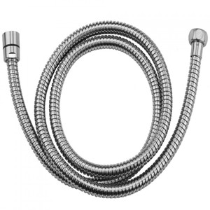 "JACLO 3049-DS-PCH 49"" DOUBLE SPIRAL BRASS HOSE POLISHED CHROME"