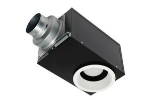 PANASONIC FV-08VRE2 WHISPERRECESSED LED DESIGNER FAN|LIGHT 80 CFM
