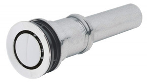 """CALIFORNIA FAUCETS 9050ZB-PN ZERODRAIN ® POP-DOWN STYLE LAVATORY DRAIN WITH 2-1/4"""" DIAMETER FLANGE POLISHED NICKEL"""