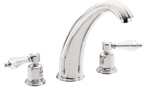 CALIFORNIA FAUCETS TO-6908-FRG CRYSTAL COVE ROMAN TUB TRIM SET FRENCH GOLD