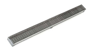 INFINITY DRAIN SAG 6560 SS SAG 65 SITE SIZEABLE 60'' COMPLETE KIT SATIN STAINLESS