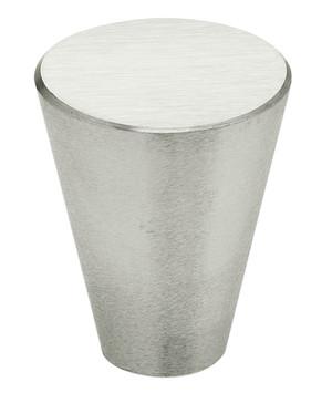"""OMNIA 9181/24.32D MODERN CABINET KNOB 5/16"""" DIAMETERSATIN STAINLESS STEEL"""