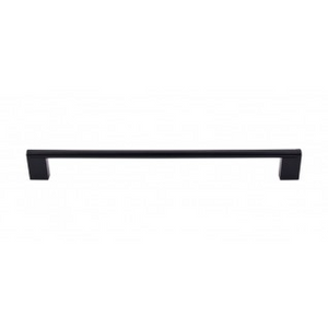 "TOP KNOBS M1059 PRINCETONIAN BAR PULL 11 11/32"" CENTER TO CENTER FLAT BLACK"