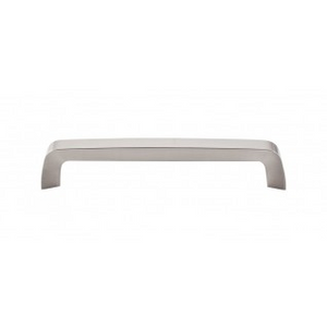 "TOP KNOBS M1170 TAPERED BAR PULL 6 5/16"" CENTER TO CENTER BRUSHED SATIN NICKEL"