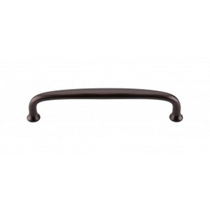 "TOP KNOBS M1185 CHARLOTTE PULL 6"" CENTER TO CENTER OIL RUBBED BRONZE"