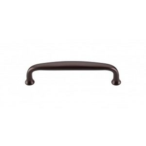 "TOP KNOBS M1188 CHARLOTTE PULL 4"" CENTER TO CENTER OIL RUBBED BRONZE"