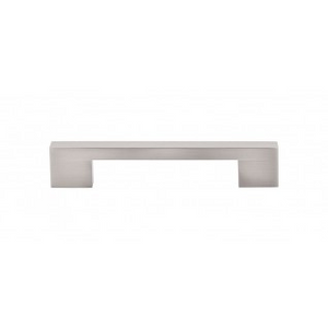 """TOP KNOBS TK23BSN LINEAR PULL 5"""" CENTER TO CENTER BRUSHED SATIN NICKEL"""