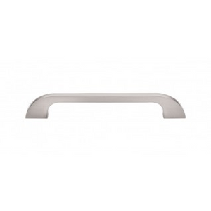 """TOP KNOBS TK45BSN NEO PULL 6"""" CENTER TO CENTER BRUSHED SATIN NICKEL"""