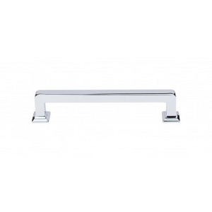 """TOP KNOBS TK704PC ASCENDRA PULL 5 1/16"""" CENTER TO CENTER POLISHED CHROME"""