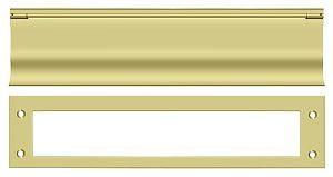 DELTANA MS0030U3 MAIL SLOT, HD POLISHED BRASS