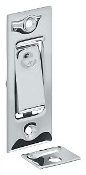 DELTANA PDB42U26 POCKET DOOR BOLT, JAMB BOLT CHROME