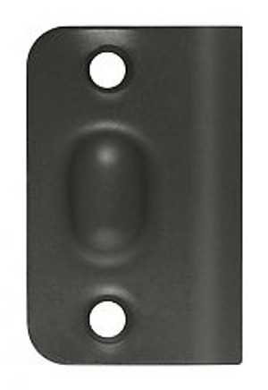 DELTANA SPB349U10B STRIKE PLATE FOR BALL CATCH AND ROLLER CATCH OIL RUBBED BRONZE