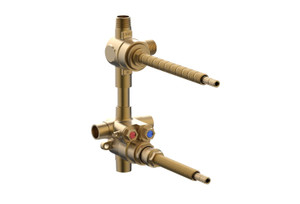 """Phylrich 1-132 1/2"""" NEW THERMOSTATIC VALVE WITH 2 WAY DIVERTER"""