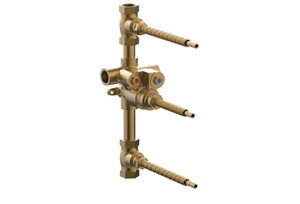 """Phylrich 1-148 3/4"""" NEW 2018 THERMOSTATIC VALVE WITH TWO 3/4"""" VOLUME CONTROLS"""