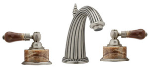 Phylrich K371/15A REGENT WIDESPREAD FAUCET BROWN ONYX & PEWTER