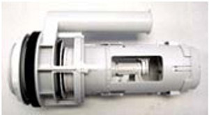 Duravit 0074137600 Flush Valve for Two-Piece Toilet.