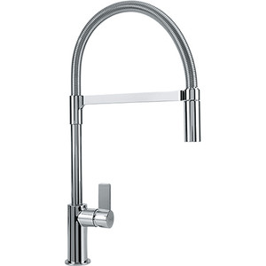 Franke FFPD3100 Ambient Kitchen Faucet Pull Out Spray Single Lever Single Hole Polished Chrome