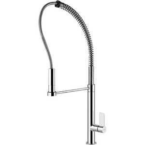 Franke FFPD2000 Masterchef Kitchen Faucet Pull Down Spray Single Side Lever Single Hole Polished Chrome