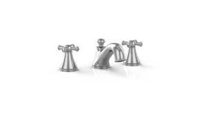 Toto TL220DD#PN Vivian Widespread Lavatory Faucet With Cross Handles Polished Nickel