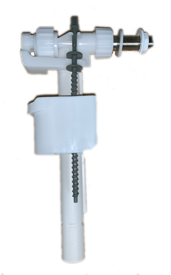 """Duravit 0074112600 - Fill Valve, Version 1 (old style)?for Side Supply 3/8"""" Brass Nippel 62,5 mm"""