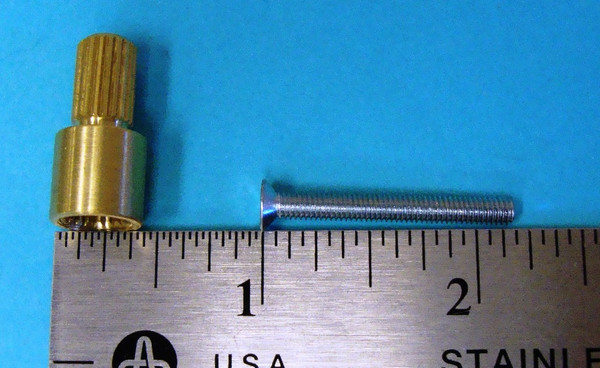 """Phylrich 062N1207 1/2"""" Extention-Kit for PB Valve"""