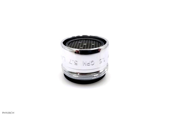 """Phylrich M501S/15 13/16"""" AERATOR SATIN NICKEL<BR>(SHOWN IN POLISHED CHROME)"""