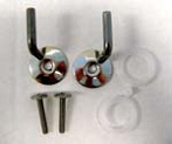 Duravit 0061121000 Hinges for toilet seat (pair)