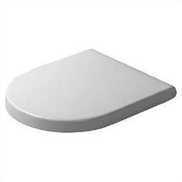 Duravit 0063320000 Starck 3 Toilet Seat and Cover in white, Elongated