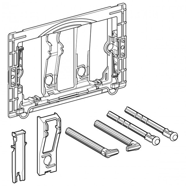 GEBERIT 241.873.00.1 CONVERSION KIT FOR TOOL-FREE ASSEMBLY