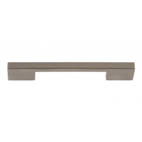 """ATLAS HOMEWARES A867-BN THIN SQUARE PULL 5 1/16"""" CENTER TO CENTER BRUSHED NICKEL"""