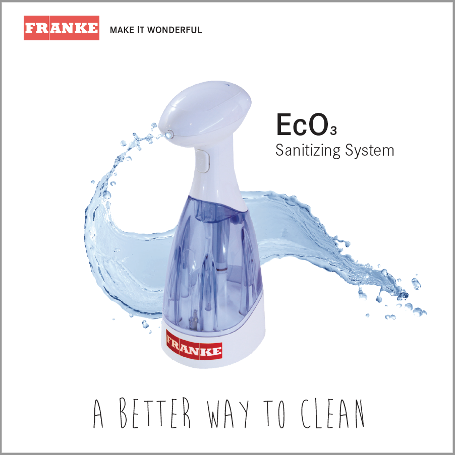Franke EcO3 Sanitizing System Brochure