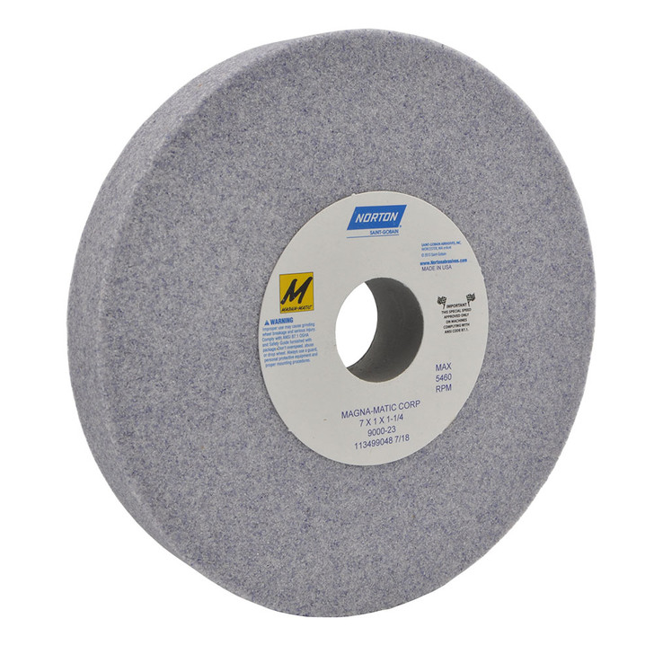 9000-23 Grinding wheel for the MAG-8000 and MAG-9000 for sharpening conventional lawn mower blades.