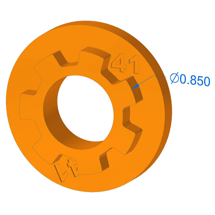 1000-41 Blade Hole Adapter (John Deere)