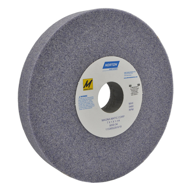 9000-34 Grinding wheel for the MAG-8000 and MAG-9000 for sharpening conventional lawn mower blades.