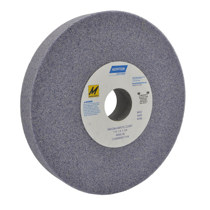 9000-35 Grinding wheel for the MAG-8000 and MAG-9000 for sharpening conventional lawn mower blades.
